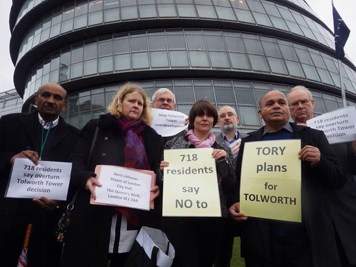 UPDATE: Lib Dems fight back against Tolworth Tower decision with petition to Mayor of London